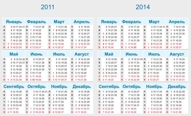 Следующий 2014 год также будет насыщен и выходными и праздничными днями.  Вот радоваться-то будем.