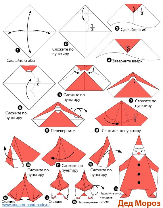 Как сделать поделки для нового года из бумаги