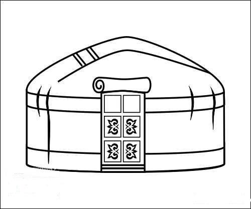 Как сделать макет юрты фото 541