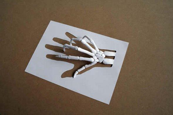 Поделки своими руками из белой бумаги на день рождения
