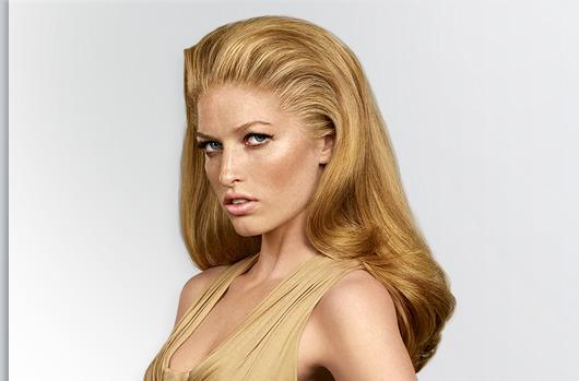 Теплый цвет блонд