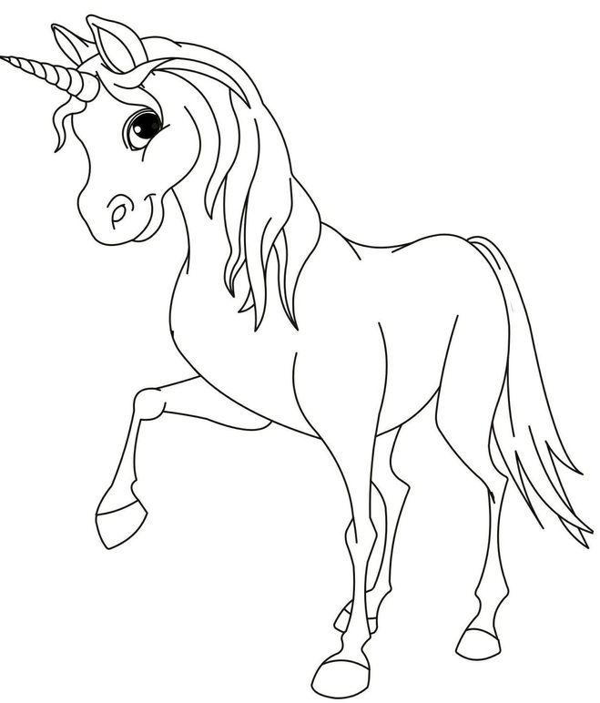 Раскраски лошади красивые распечатать