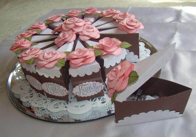 Тортик с сюрпризом своими руками