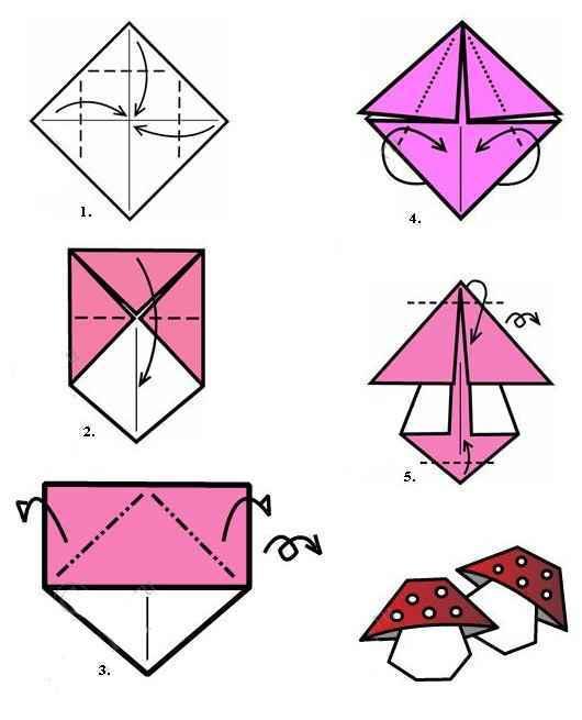 но не оригами,