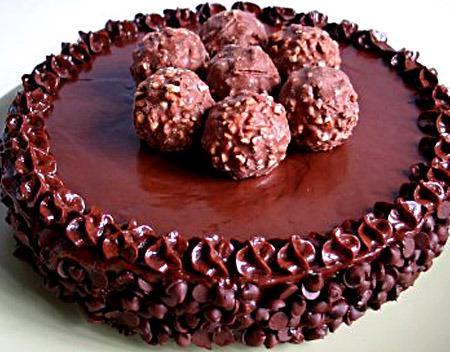 Шоколадный торт в домашних условиях
