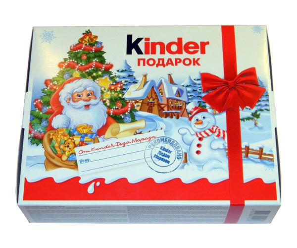 Киндер новогодние подарки 29