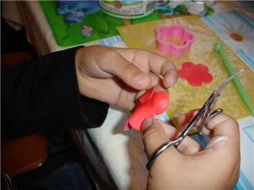 Как сделать розочки из мастики