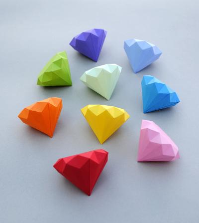 Как можно сделать новогодние игрушки из бумаги