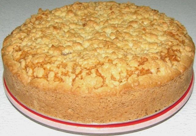 Пирог песочный рецепт