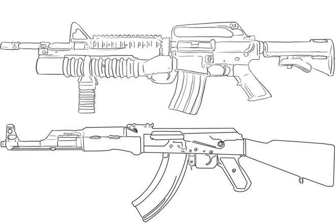 АК 47 - это известный во всем