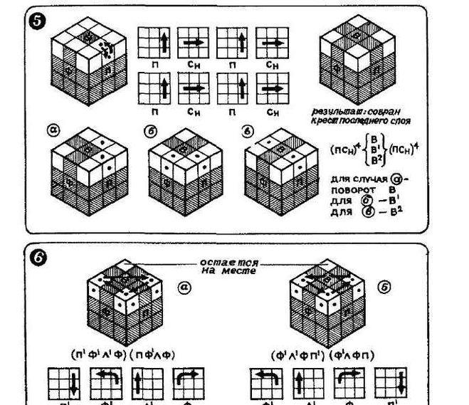 Сборка Кубика Рубика Из Журнала Наука И Жизнь