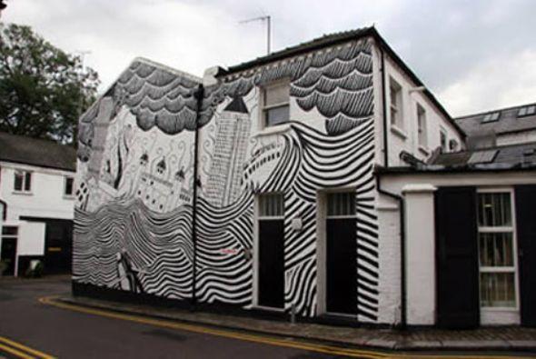 Как оригинально раскрасить дом?