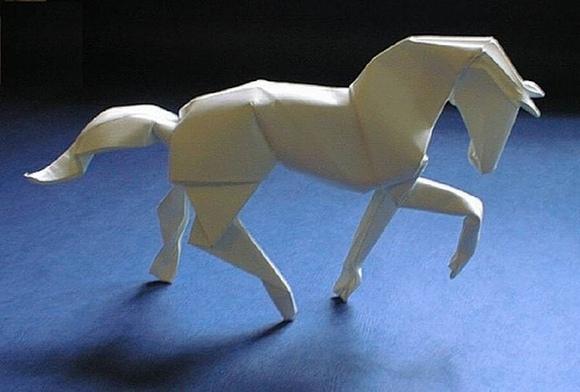 Как сделать лошади из бумаги