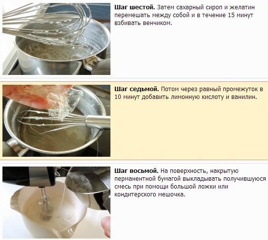 Как в домашних условиях приготовить зефир яблоко 251