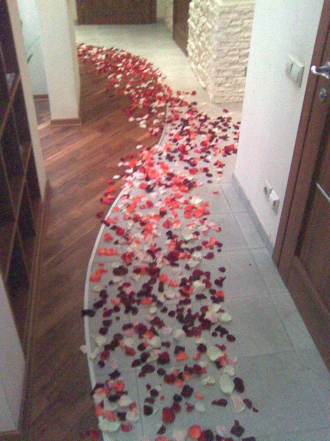 Что сделать дома девушке романтик