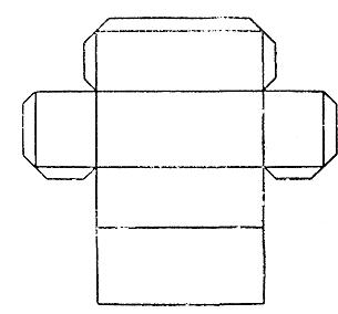 Как сделать прямоугольный параллелепипед из бумаги схема видео 5 класс