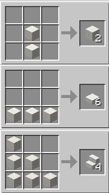 Minecraft как сделать кварцевый блок