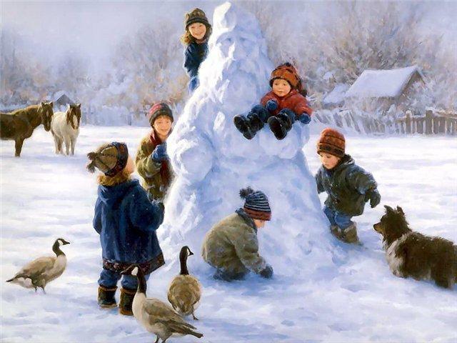 сочинение на тему новогодний снег
