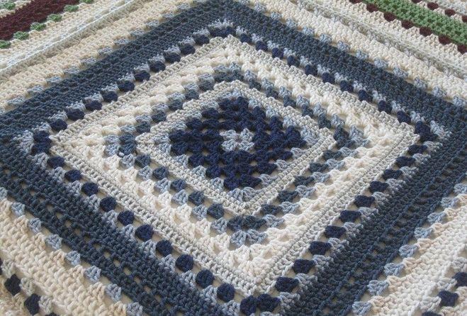 Крючок вязание из квадратов