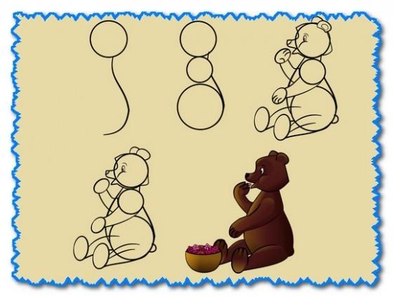 Медведь делаем