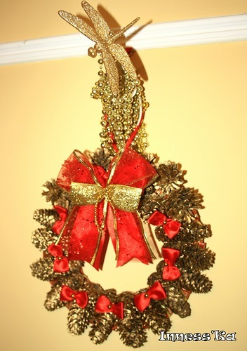 Сделать рождественский сувенир