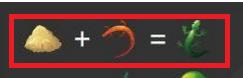 Как в игре Алхимия сделать ящерицу?