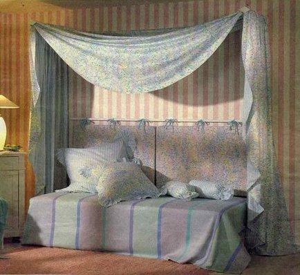 Фото балдахин над кроватью своими руками
