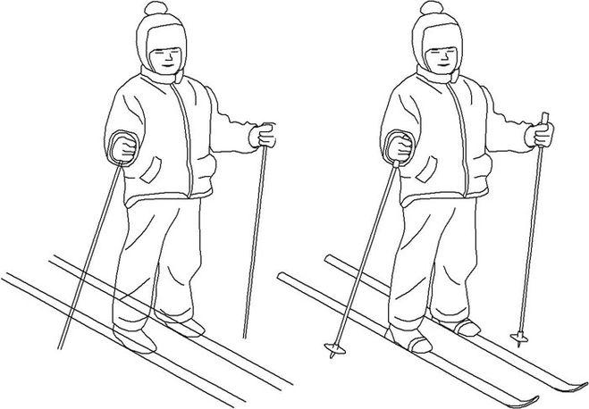 Беговые лыжи, ботинки