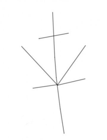 как нарисовать листья