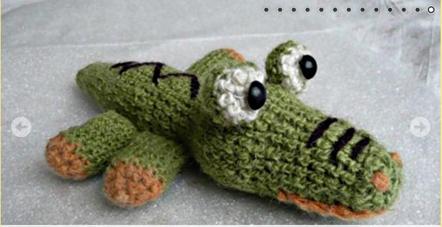 крокодил гена крючком