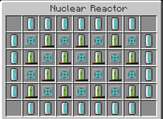 Схема ядерного реактора майнкрафт 1.7 10 фото 175