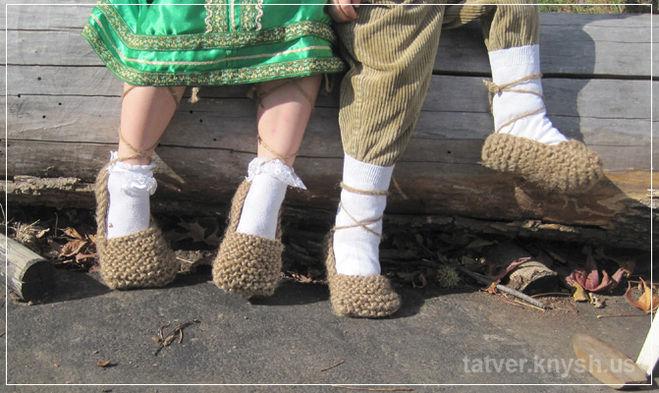 Как сделать лапти для костюма бабы яги - Simvol-goroda.ru