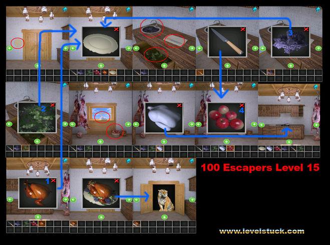 Как пройти 14 уровень в игре побег мир головоломок видео