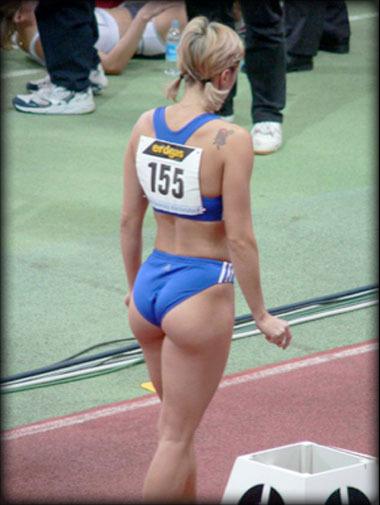 женщины спортсменки фото попа