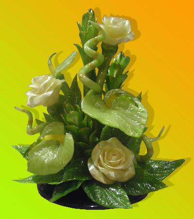 Как сделать цветы из карамели фото 629