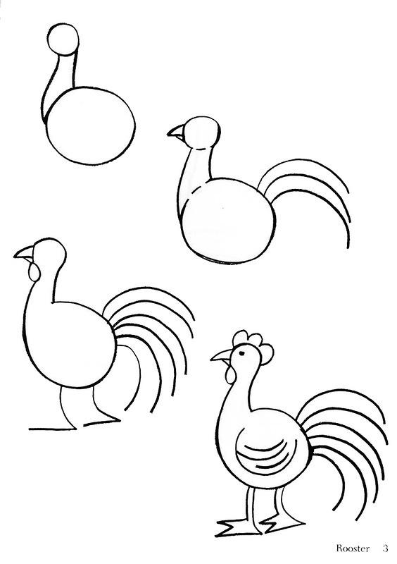 Красивые рисунки карандашом на бумаге для начинающих