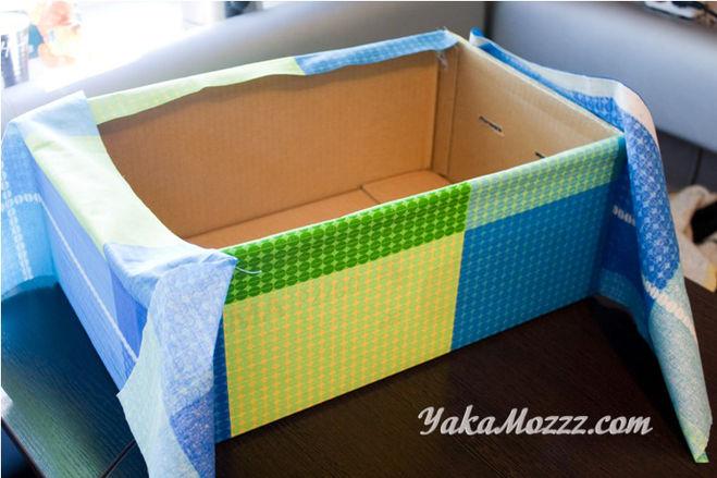 Ящик тканей для игрушек своими руками