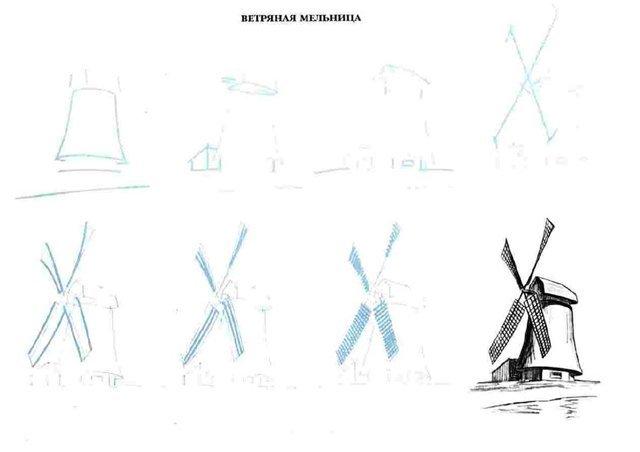 Как нарисовать альпака карандашом поэтапно 109