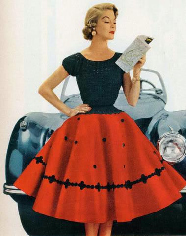 Как сшить платье 60-х