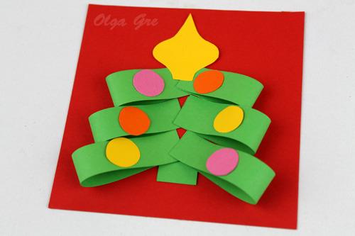 Как сделать поделку новогодний домик своими руками