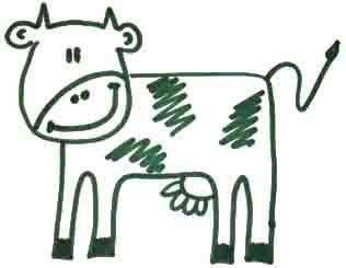 как рисовать корову 5
