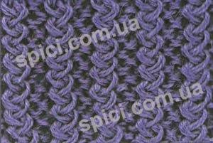 Итальянская резинка спицами схема вязания фото 792