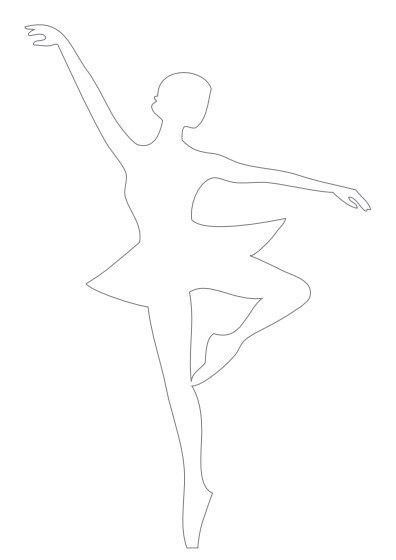Мы с детьми делали вот такие замечательные снежинки в форме балерин.