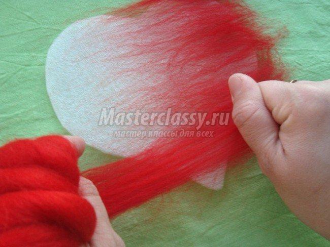 Валяние шерсти для начинающих с пошаговым