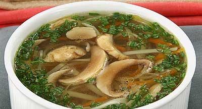 Рецепт супа с консервированной фасолью с мясом