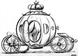 Как нарисовать карету для золушки из тыквы