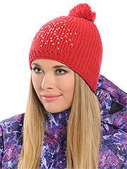 Украшения на вязаную шапку своими руками