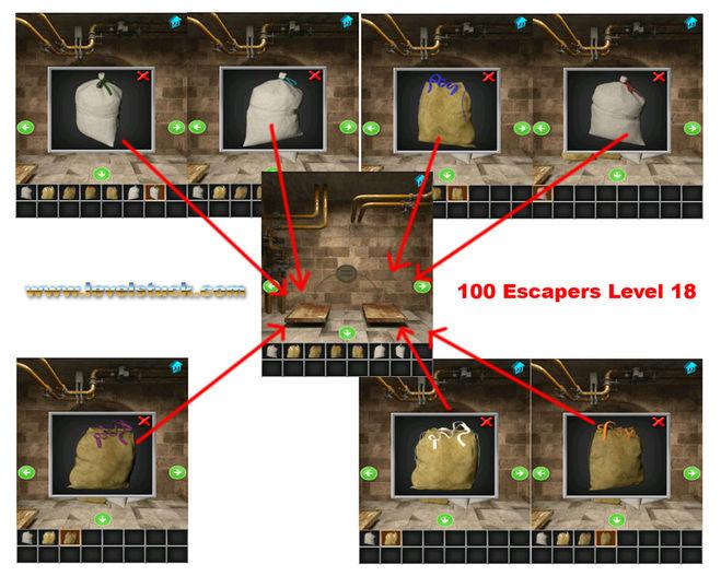 Как пройти 18 уровень в игре 100