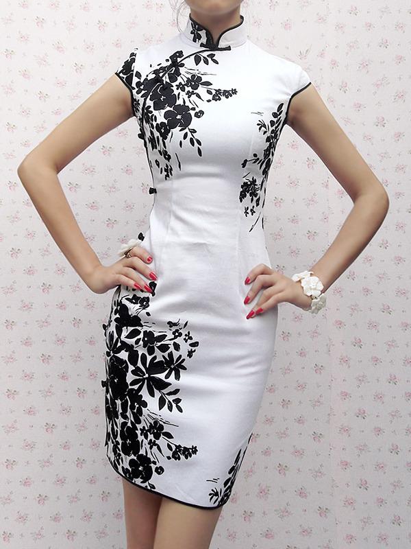 Платье в китайском стиле своими руками