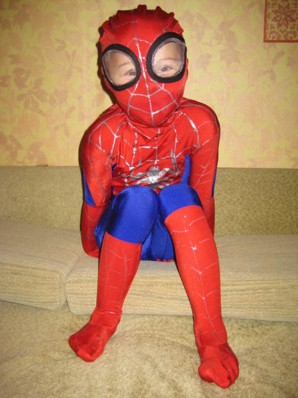 Костюм нового человека паука сшить
